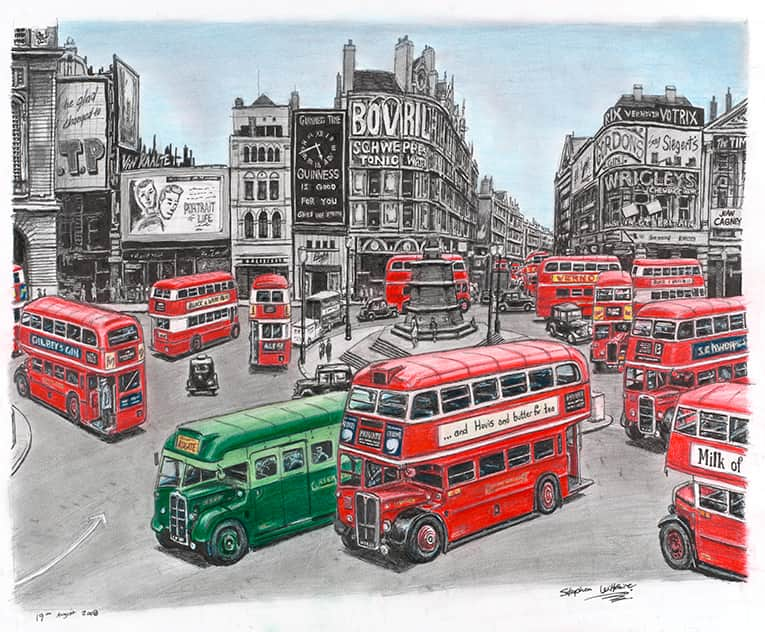 1949 - originals and prints by Stephen Wiltshire MBE
