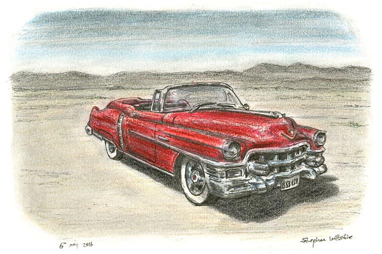 1953 Cadillac Eldorado Convertible - Original drawings ...