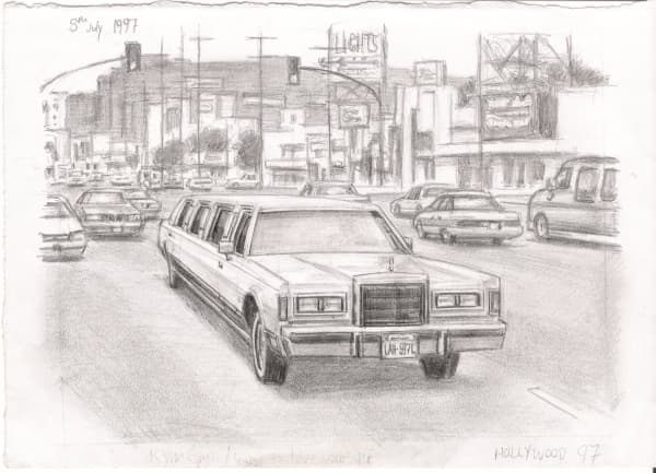 Hollywood 97 - original drawings and prints by Stephen Wiltshire