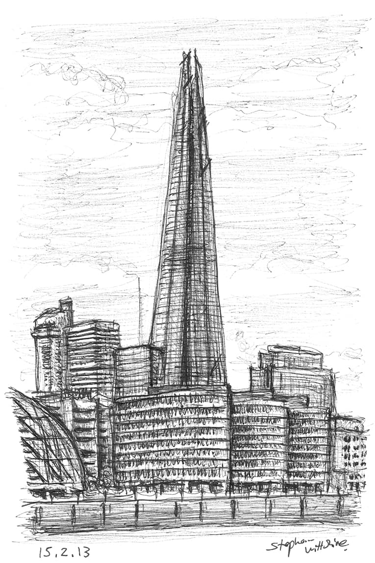 The Shard - originals and prints by Stephen Wiltshire MBE
