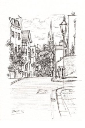 Aubrey Road - original drawings and prints by Stephen Wiltshire