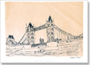 Tower Bridge, London 1983 (signed) - Prints for sale
