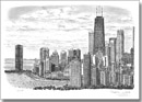 Chicago Skyline 2005 (Limited Edition of 25) - Prints for sale