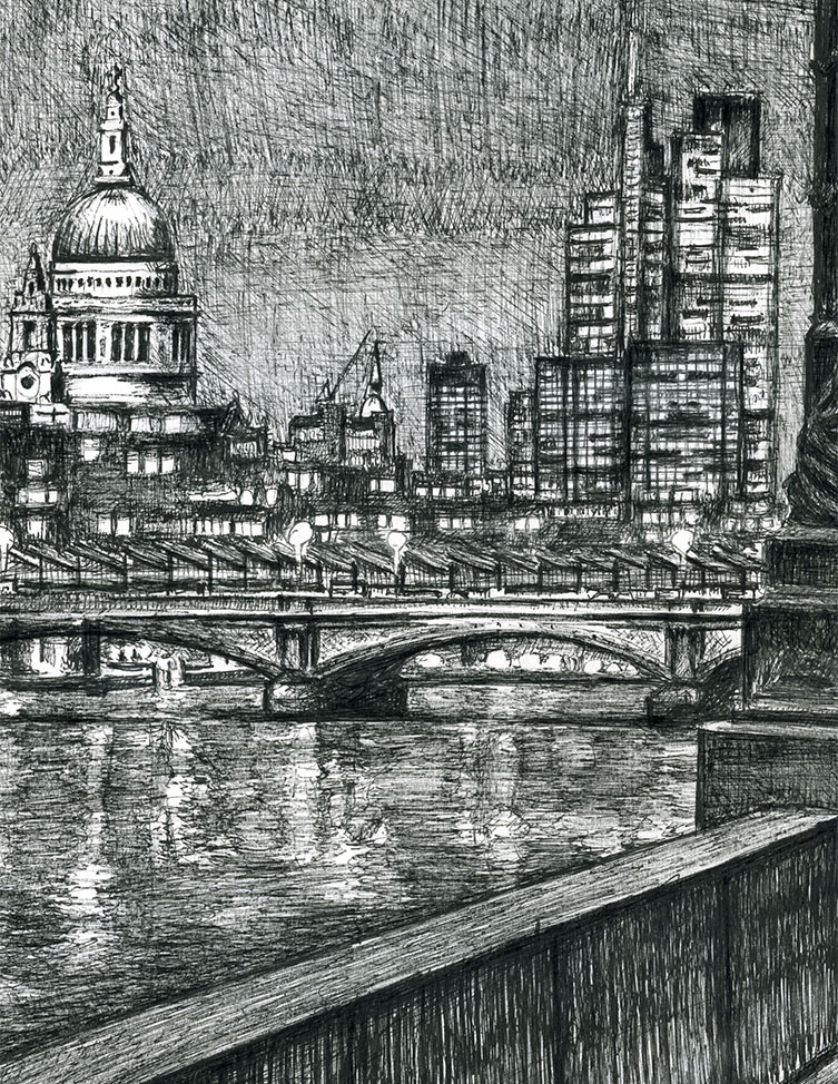From Southbank on an autumn evening (Limited Edition of 75)