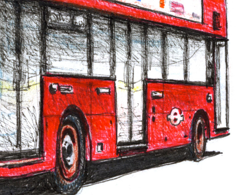 The new Routemaster bus
