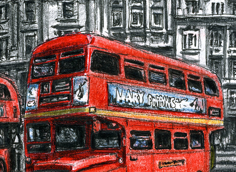 The old and new Routemaster buses