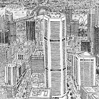 Sydney by Stephen Wiltshire - Drawings - Gallery