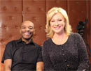 With Kerri-Anne on her morning show