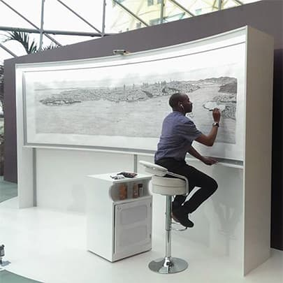 Stephen Wiltshire's Istanbul Panorama - Stephen Wiltshire videos - Download now