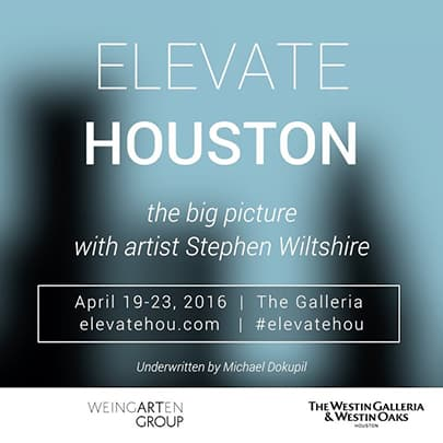 Elevate Houston - Stephen Wiltshire videos - Watch now