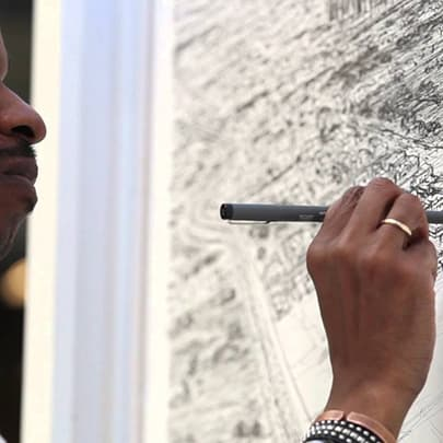 Houston, Day 1 - Stephen Wiltshire videos - Watch now