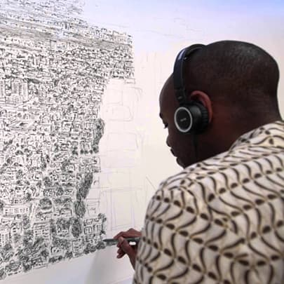 Houston, Day 2 - Stephen Wiltshire videos - Watch now