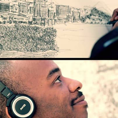 Houston, Day 4 - Stephen Wiltshire videos - Download now